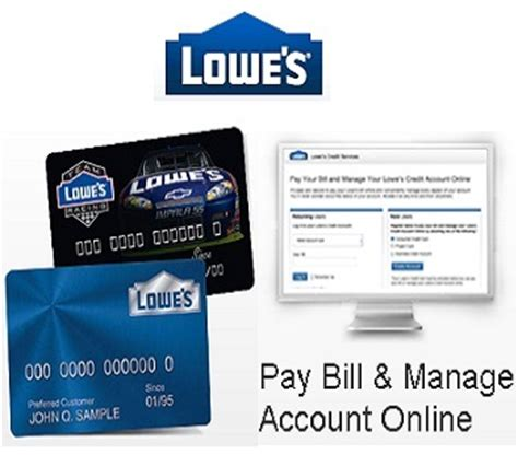 make a lowes credit card payment lowe s login guide for credit card bill payment