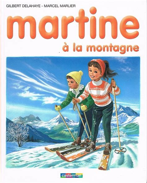 couvertures images et illustrations de martine 224 la montagne de gilbert delahaye