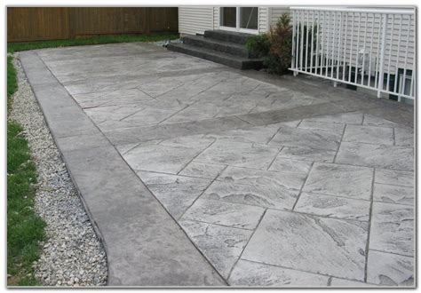 top 28 concrete patio design ideas concrete patios
