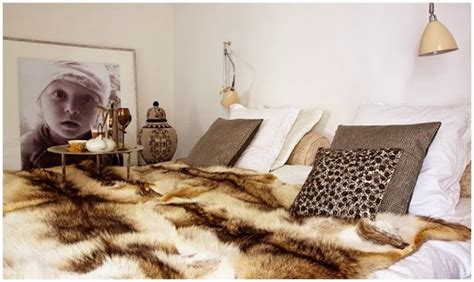 faux fur home decor decorating with faux fur daily decor