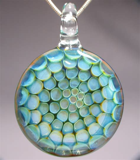 how to make glass jewelry honeycomb blown glass pendant jewelry journal