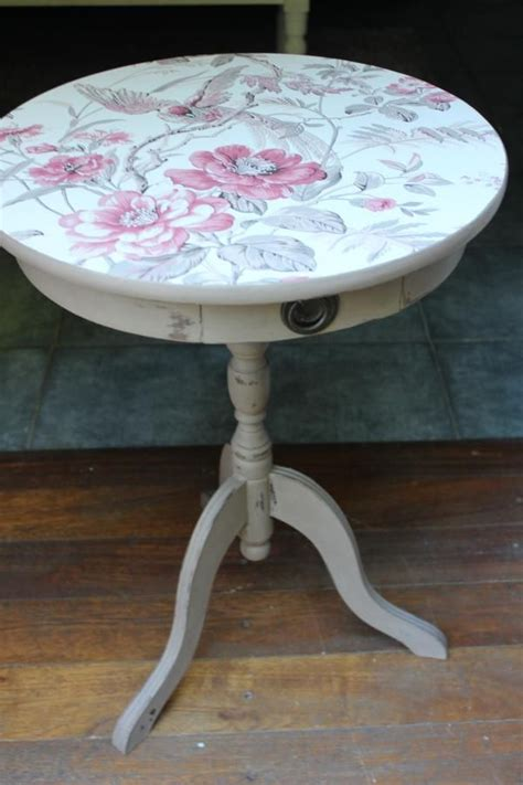 decoupage dining table 1000 ideas about decoupage table on decoupage