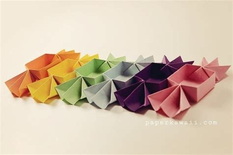 how to make a shaped box origami origami shaped box tutorial 183 how to fold an origami