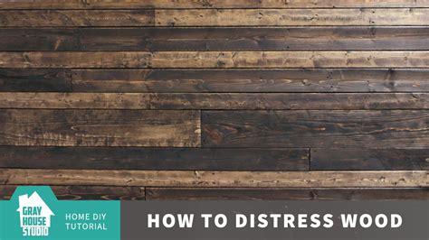 how to wood for woodworking how to distress wood