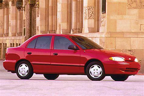 Hyundai Accent 1995 by 1995 99 Hyundai Accent Consumer Guide Auto