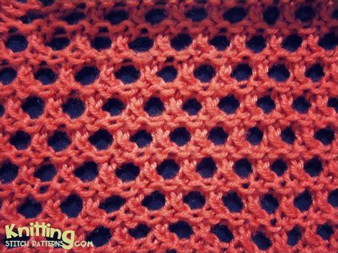 honeycomb knit stitch open honeycomb knitting stitch patterns
