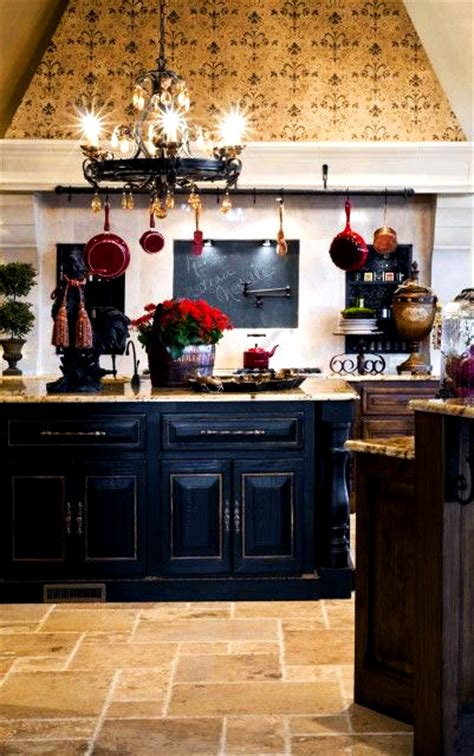 rustic black kitchen cabinets home decor ideas country kitchen with a distressed