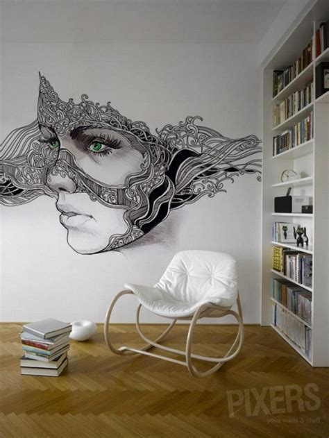 wall mural from photo phantasmagories wall murals by pixers alldaychic
