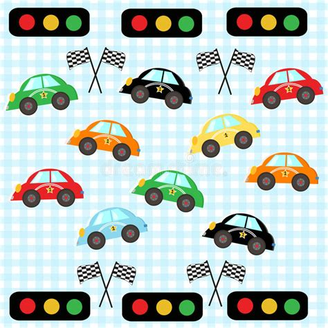 Car Vector Wallpaper by Colorful Race Car Room Cars Vector Illustration