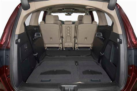 Minivan Cargo Space by 2018 Honda Odyssey Cargo Space Motor Trend