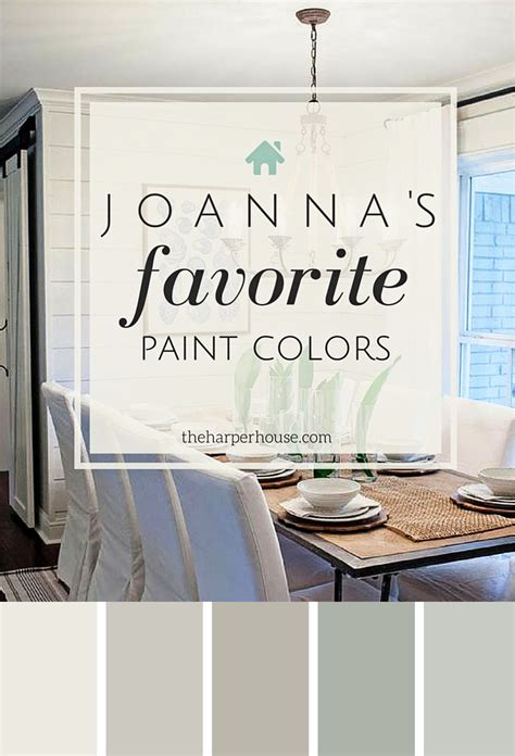 paint colors joanna gaines fixer paint colors joanna s 5 favorites the