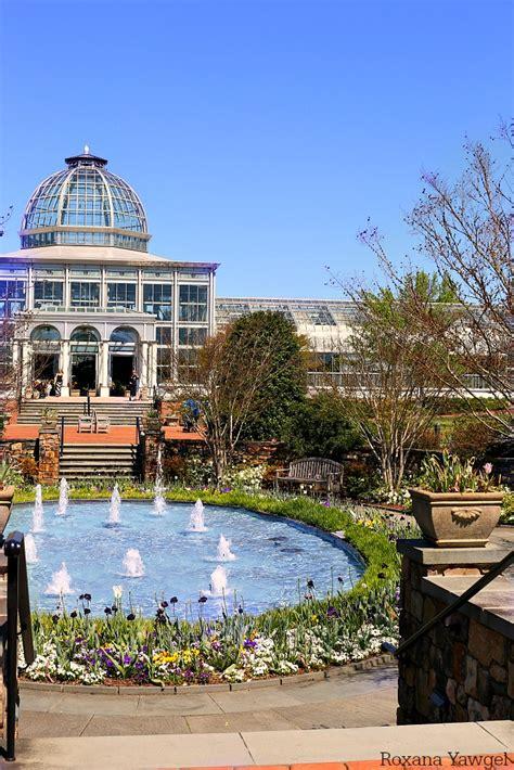 lewis botanical gardens at lewis ginter botanical garden