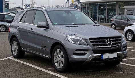 Ml Mercedes by Mercedes W 166