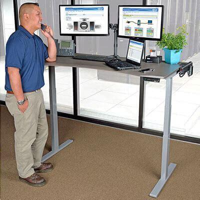 standing desk productivity improve workspace ergonomics promote health and increase