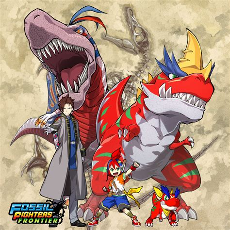 fossil fighters fossil fighters frontier coming out on may 29th in europe
