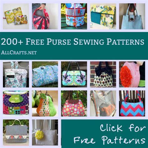 craft sewing patterns 200 free purse sewing patterns allcrafts free crafts update