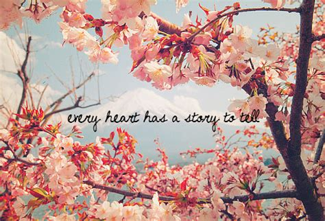 scenery pictures quotes blossom