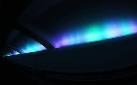 light s icelandair airplanes with interior led lighting