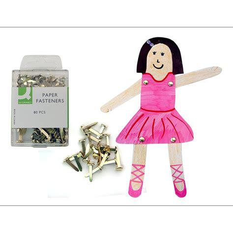 paper fastener crafts brass paper fasteners craft essentials from crafty