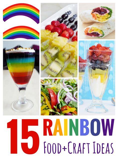 food craft ideas for 15 rainbow food craft ideas 187 the purple pumpkin