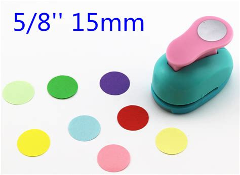 circle cutter paper craft free shipping paper circle cutter 15mm 5 8 shapes craft