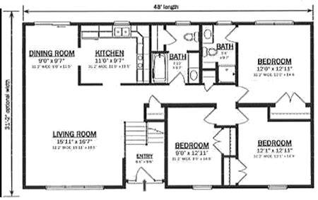 bi level home plans b149632 1 by hallmark homes bi level floorplan