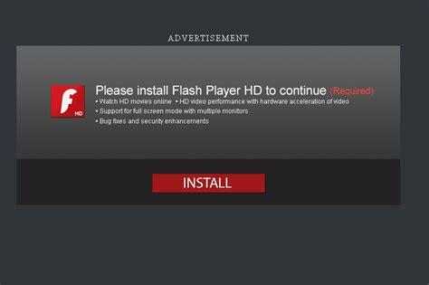 flash install adobe flash malware attacks on the rise pc tech magazine