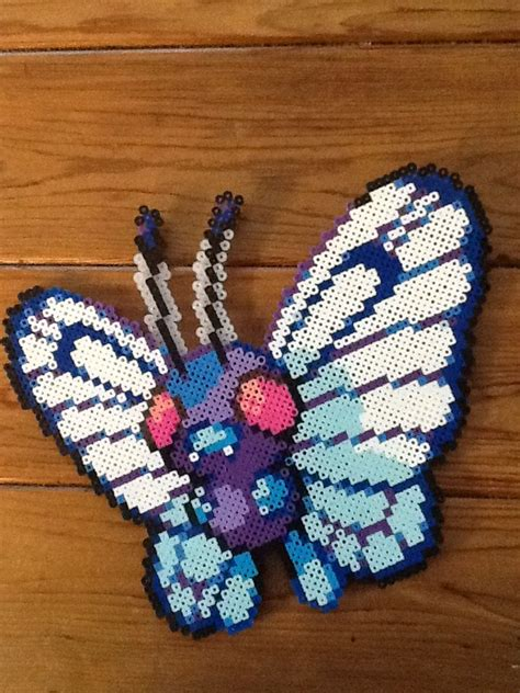 how to iron perler perfectly butterfree from perler crafts