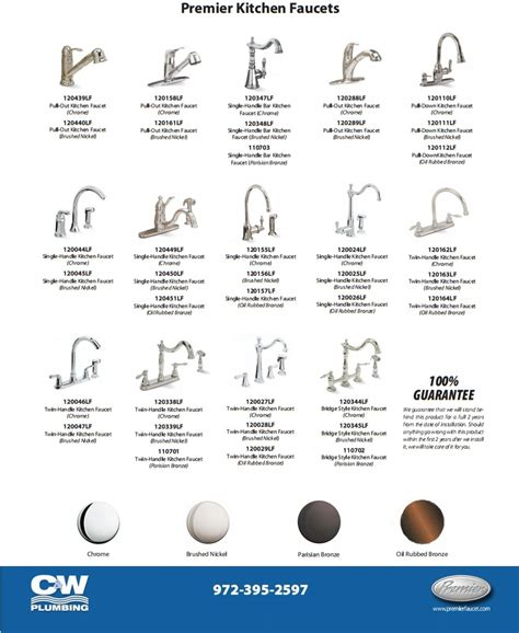 faucet types kitchen new faucets for your bathroom or kitchen c w plumbing