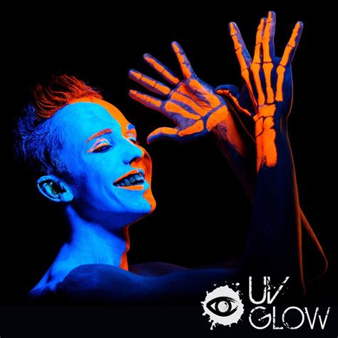 glow in the paint uv light neon glow in the and paint 8pcs uv