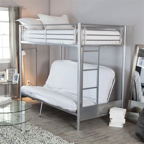 bunk bed with futon underneath loft bed with futon underneath bunk bed with futon