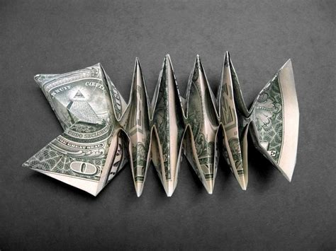dollar origami fish 1235 best images about folded money on dollar