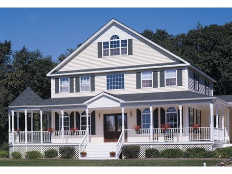 farmhouse wrap around porch house plans with wrap around porches house style design