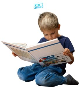 picture of child reading book learning phonics can be with children reading software