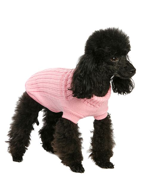 cable knit sweater for dogs cheshire pet supplies pink cable knit sweater
