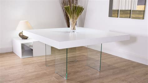 square oak dining table for 8 white oak square dining table glass legs seats 6 8