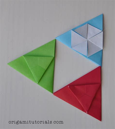 the origami origami triangle tato origami tutorials
