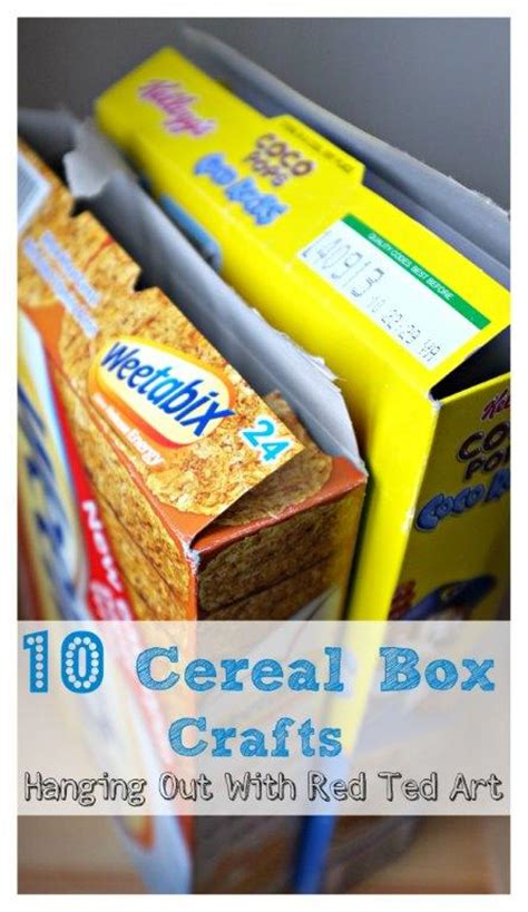 10 Cereal Box Crafts Ted S