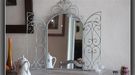 miroir marquise en fer forg 233
