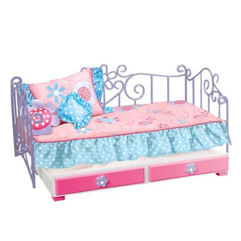 our generation bunk beds our generation metal bed with trundle and pink bedspread