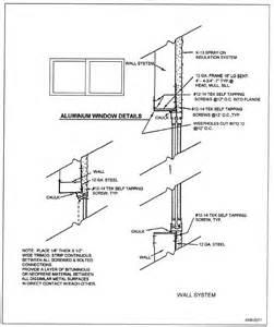 Bow Window Construction Detail figure 9 19 aluminum window installation