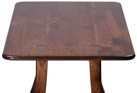 black walnut table top loft dining table black walnut caretta workspace