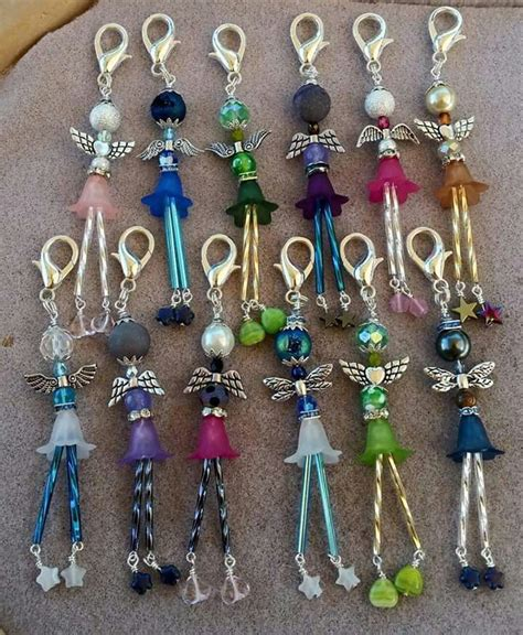 bead craft ideas best 25 key rings ideas on