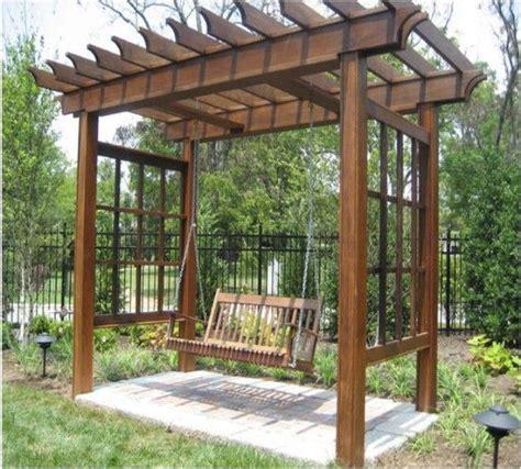 pergola swings 17 best ideas about arbor swing on outdoor