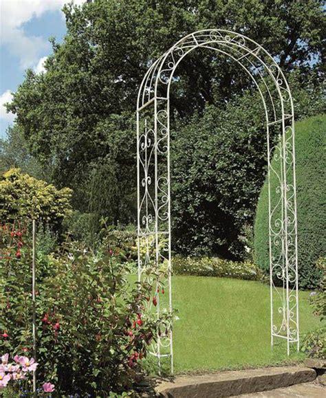 White Garden Arch Uk Gardman Metal Loire Decorative Iron Garden Arch Signature