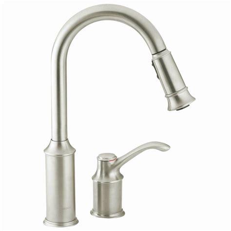 Motionsense Kitchen Faucet moen nickel pull down faucet nickel moen pull down faucet