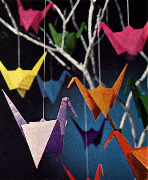 sadako origami summer s bedroom style paper cranes 500 days of