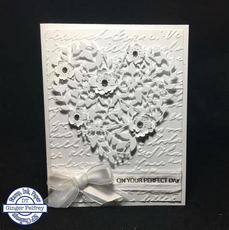 paper crafting cards bloomin hearts on stin up wedding cards
