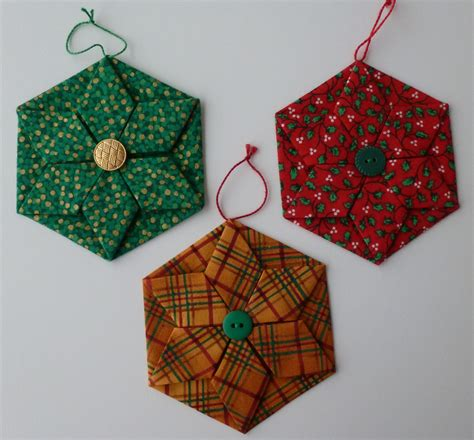 fabric origami fabric origami ornaments comot