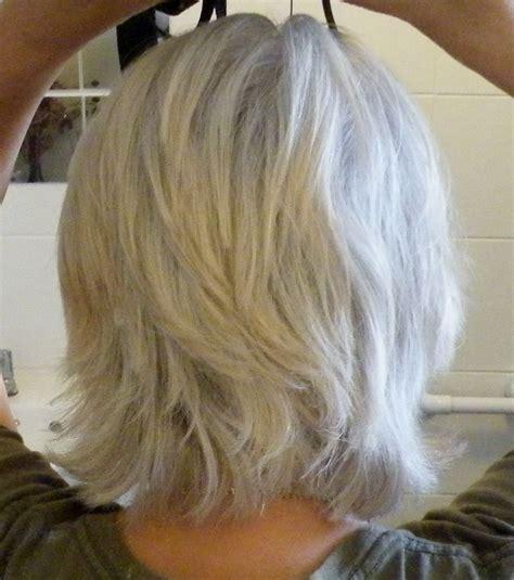 mid length grey hair medium length gray hairstyles short hairstyle 2013